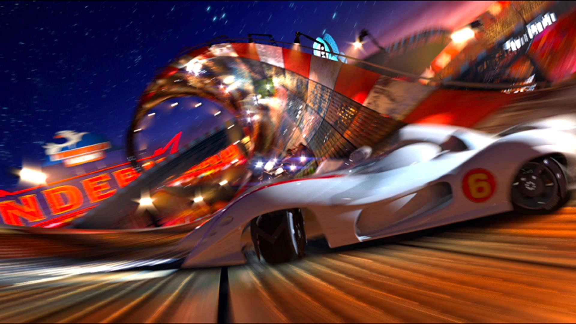 Speed racer   K+
